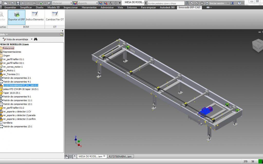 Grabación Webminar BusinessCenter PRO intregado con Autodesk Inventor