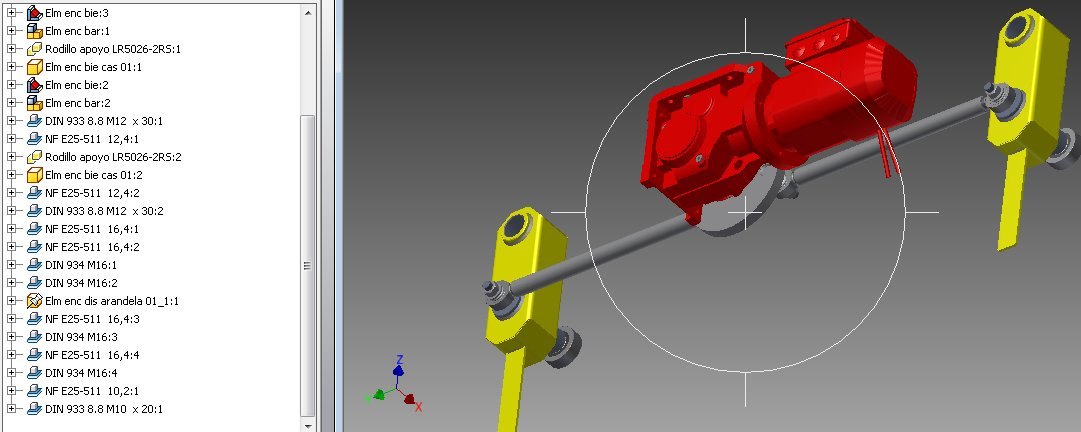 Autodesk Inventor, Cad integrado con BCPRO (Video)